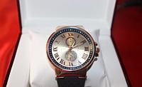 Мужские часы Ulysse Nardin Gold, элитные наручные часы, мужские часы Улис Нардин кварцевые
