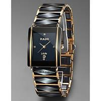 """Стильные наручные часы RADO Integral """"Jubile"""", элитные мужские часы, кварцевые часы унисекс керамика"""