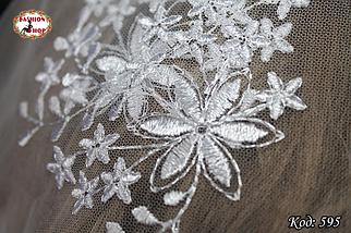 Свадебный платок Вивьен.1, фото 3