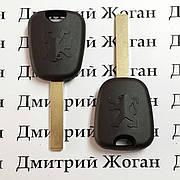 Ключ для Peugeot (Пежо) лезвие VA2, с чипом ID46