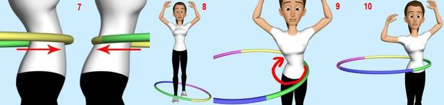 обруч здоровья, хула хуп, обруч для похудения, массажный обруч, хулахуп