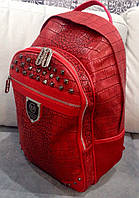 Рюкзак Philipp Plein красный, фото 1