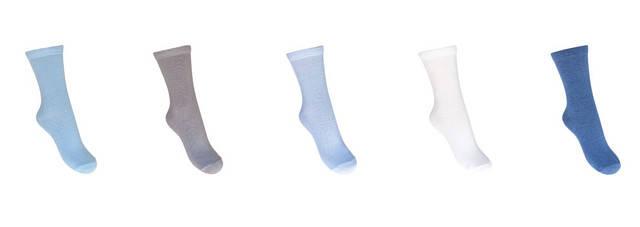 Носки однотонные для мальчика, фото 2