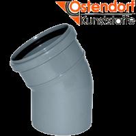 """Отвод 40х30 для внутренней канализации  из полипропилена """"OSTENDORF"""" (Германия)"""