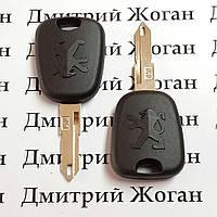Ключ для Peugeot (Пежо) лезвие NE73, с чипом ID46