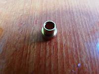 Соединительный элемент тефлоновой трубки латунный d 4