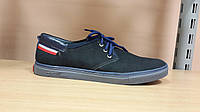 Спортивные мужские туфли из нубука