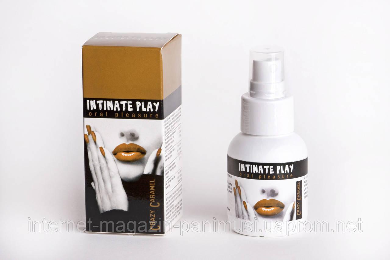 Спрей для орального секса 50 мл вкус карамели INTIMATE PLAY ORAL SPRAY 50 ML