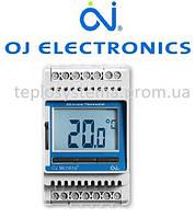 Терморегулятор для теплого пола ETN4 - 1999 OJ Electronics (на DIN-рейку), Дания