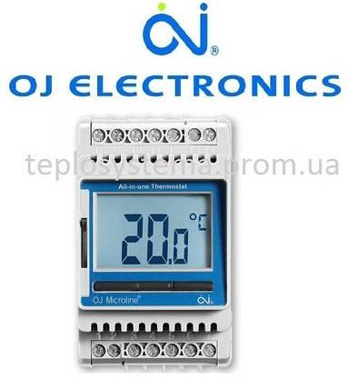 Терморегулятор для теплого пола ETN4 - 1999 OJ Electronics (на DIN-рейку), Дания, фото 2
