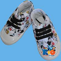 """Детская обувь для малюток """"Футбол"""" от 0-4 мес,4-8 мес,8-12 мес"""
