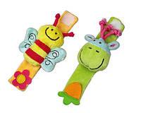 Развивающие детские браслетики Сow&Bee
