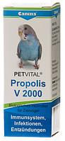 Кормовая добавка Canina Petvital V 2000 Propolis для укрепления иммунной системы птиц, 10 гр (драже)