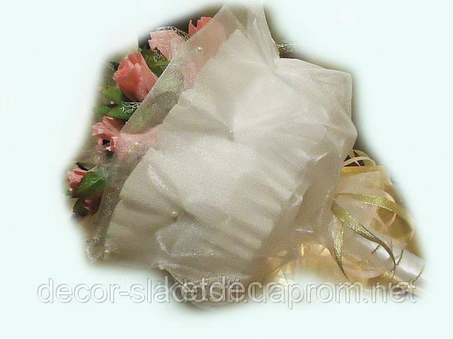 """Букет из конфет ручной""""Нежные розы"""""""