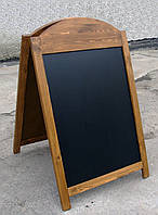 Штендер меловой двухсторонний Арка, 110 х 70 см
