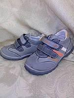 """Высокие туфли для мальчика """"Y.TOP""""(серый) р-ры 21-26"""