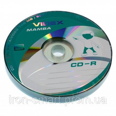 Диск CD-R 10 Videx Mamba, 700Mb, 52x, Bulk Box - Интернет-магазин компьютерной техники в Каменском