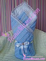 Конверт - плед для новорожденных на выписку