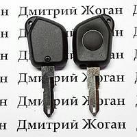 Корпус ключа для пежо (PEUGEOT) 306, 1 кнопка лезвие NE 73