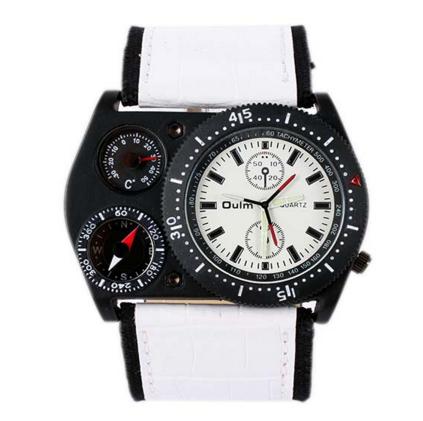 Мужские наручные часы OULM с Термометром и Компасом -