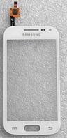 Оригинальный тачскрин / сенсор (сенсорное стекло) для Samsung Galaxy Ace II i8160 (белый цвет, самоклейка)