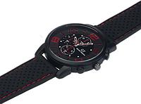 Мужские наручные часы GT Grand Touring большим циферблатом 4см (с красными цифрами)