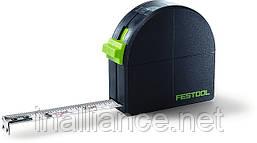 Рулетка измерительная 3 метра, продольные измерения, внутренние измерения, получение радиусов, Festool 495415