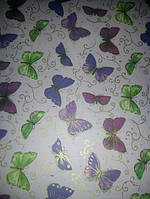 Упаковочная бумага Бабочки
