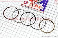 Кольца поршневые 47 + 0.25 мм   на скутер 4 т 80 сс