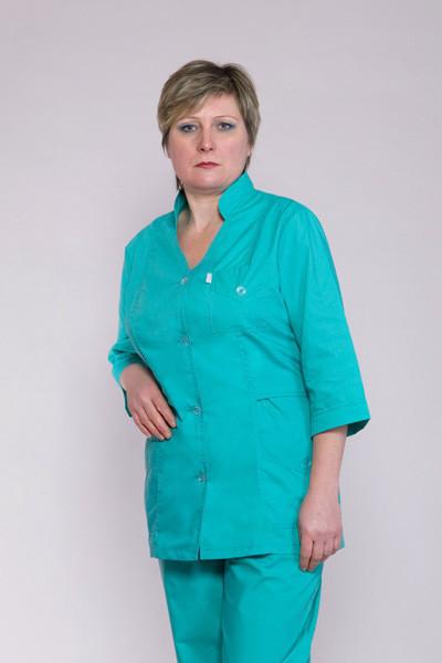 Бирюзовый медицинский костюм по цене производителя