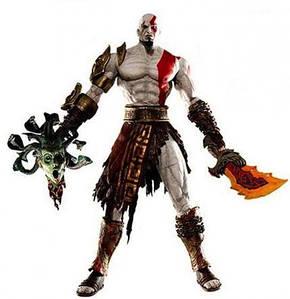 Фигурка NECA Kratos with Medusa Head  - Кратос с головой медузы
