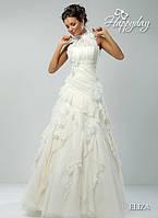 Прокат 3000 грн. Свадебное платье «ELIZA» из нежного шелка-шифона и кружев