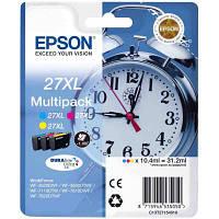 Картридж EPSON 27XL WF-7620 Bundle (C,M,Y) XL (C13T27154020)