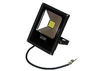 Светодиодный прожектор FOTON LP 20W, 220V, IP67 Econom, 1800Lm, 6650K белый холодный, фото 1