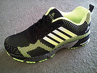 Кроссовки яркие мужские Bayota - Adidas беговые сетка 40 -45 р-р