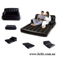 Надувний диван 5 в 1 Sofa Bed (диван трансформер Софа Бід)