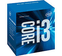 Процессор Intel Core i3 (LGA1151) i3-6100, Box, 2x3,7 GHz, HD Graphic 530 (1050 MHz), L3 3Mb, Skylake, 14 nm, TDP 51W (BX80662I36100)