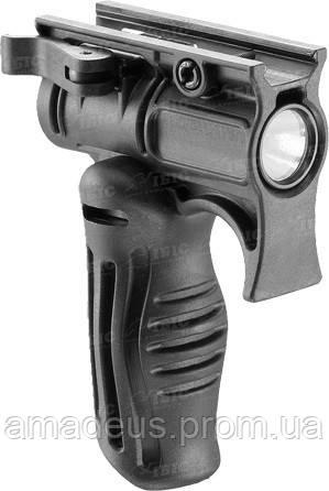 FFGS1  Рукоятка передняя складная с креплением для фонаря FAB, черная