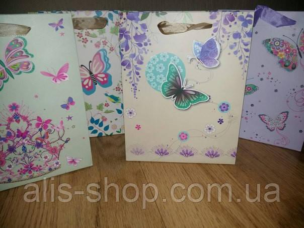 Подарочные пакеты Бабочки
