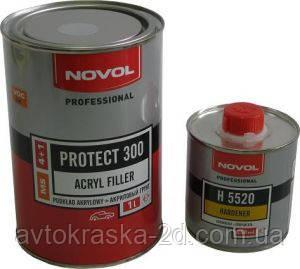 Грунт акриловий NOVOL PROTECT 300 (комплект з отв.)