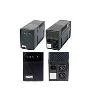 ИБП PowerCom BNT-800AP Black, 800VA, 480W, линейно-интерактивный, AVR, 2 розетки (IEC), защита RJ45