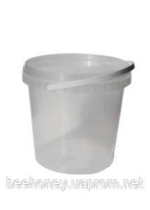Відро пластикове для меду 10 л (сертифіковане)