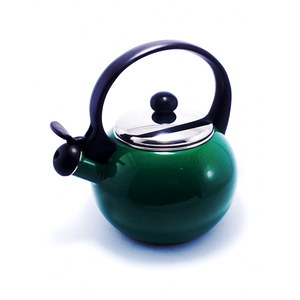 Металлический яркий чайник газовый со свистком Zauberg 1893