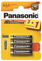 Батарейка Panasonic ALKALINE POWER AAA BLI 4 (3+1)