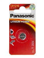 Батарейка Panasonic CR 1216 BLI 1 LITHIUM