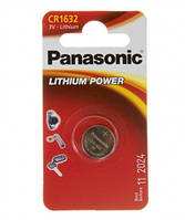 Батарейка Panasonic CR 1632 BLI 1 LITHIUM