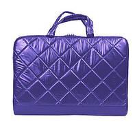 Сумка для ноутбука 15.6' Continent CC-075 Violet (полиэстер, 38x25.5x3.8 см)
