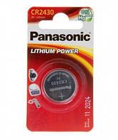 Батарейка Panasonic CR 2430 BLI 1 LITHIUM