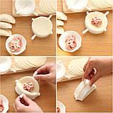 Форма для приготовления вареников, пельменей и чебуреков Form dough (5 шт.), фото 7