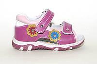 Детские кожаные босоножки на липучках. Для девочки. TOM.M